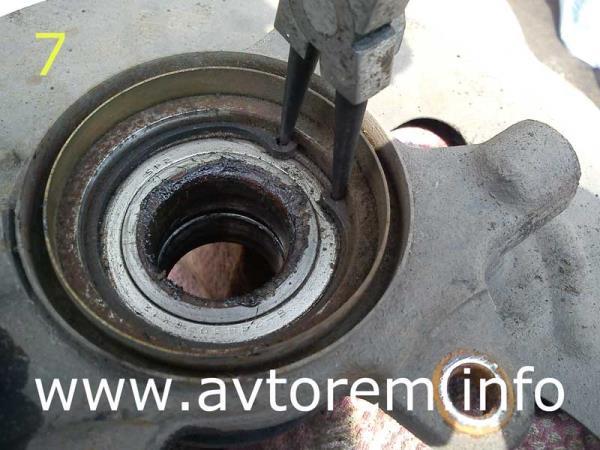 стопорное кольцо подшипника передней ступицы ваз 2115