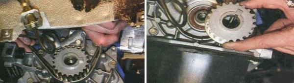 Замена переднего сальника коленчатого вала Ваз 2170