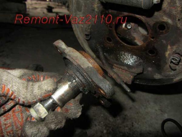 замена задней оси ступицы на ВАЗ 2110-2112