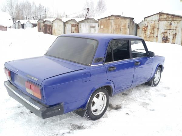 Задние колеса ВАЗ 2107