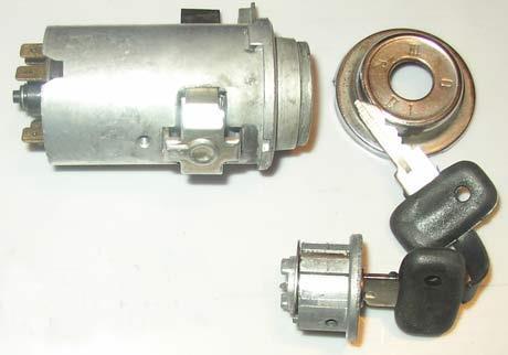 Износ контактов замка зажигания на автомобилях ВАЗ