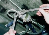 Замена топливного фильтра на ВАЗ 2110