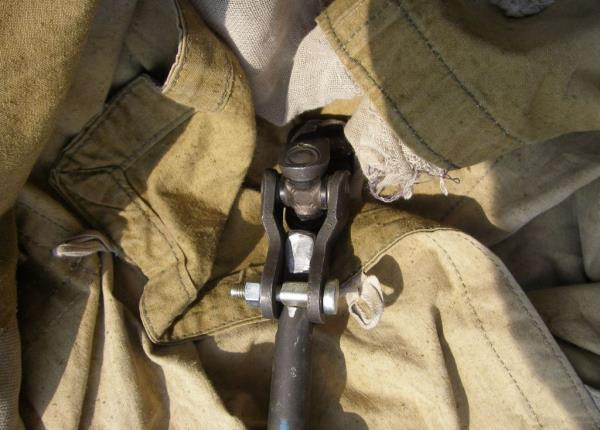 Подгонка вала производится его обтачиванием, перед вами уже обточенный вал от Приоры