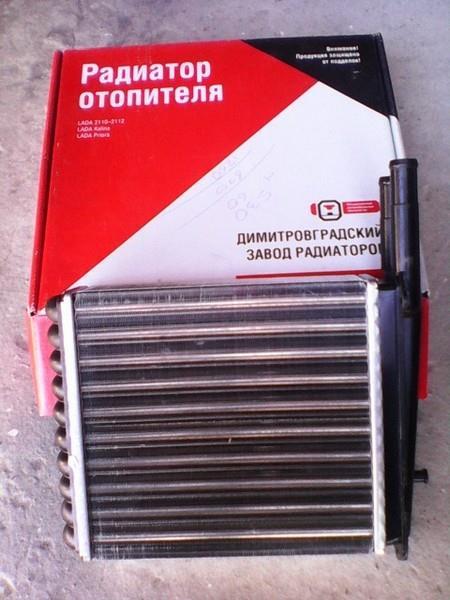 Замена радиатора отопителя (печки) Лады Приоры без кондиционера