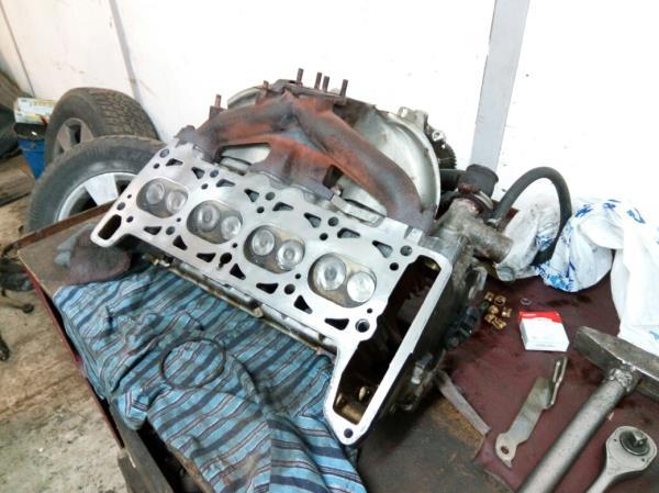 Шлифовка головки блока цилиндров Chevrolet Niva