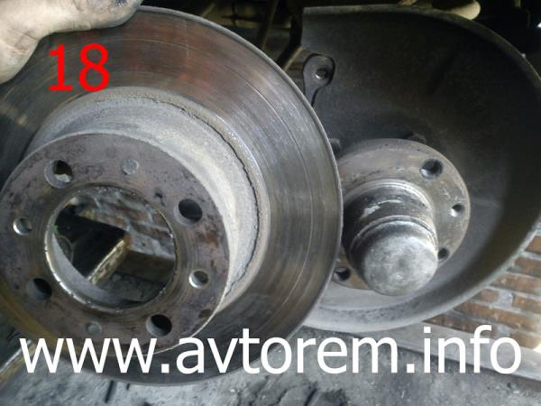 Минимальная допустимая толщина тормозного диска ваз 2107 9 мм