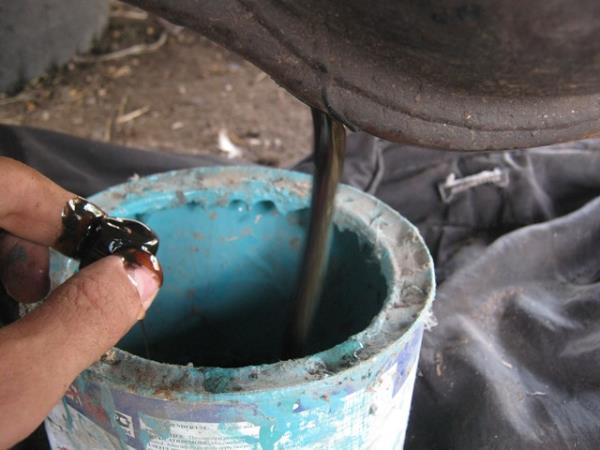 слить масло с моста ваз 2107