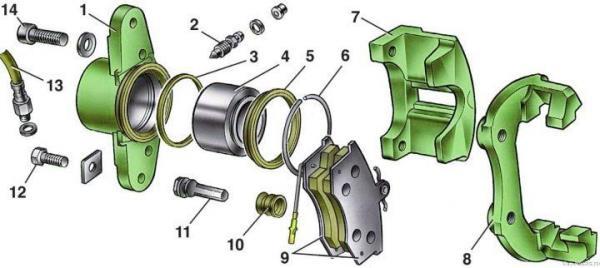 Как избавиться от стука суппортов Lada Xray