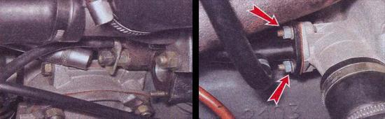замена прокладки впускного трубопровода ваз 2107