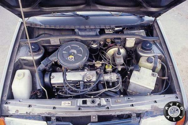 Замена мотора на ВАЗ 2107