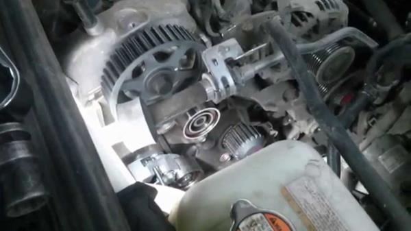 Замена ремня генератора ВАЗ 21074 инжектор