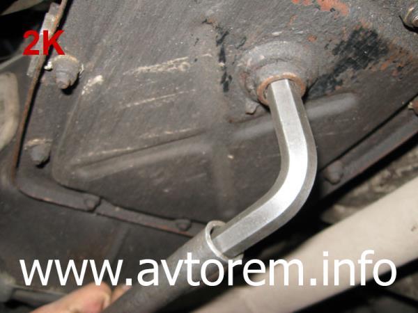 меняем трансмиссионное масло в коробке передач ВАЗ-2101, ВАЗ-2102, ВАЗ-2104, ВАЗ-2105, ВАЗ-2106, ВАЗ-2107, Жигули