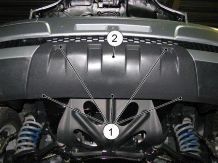 Бампер Шеви Нива 1.7 GM