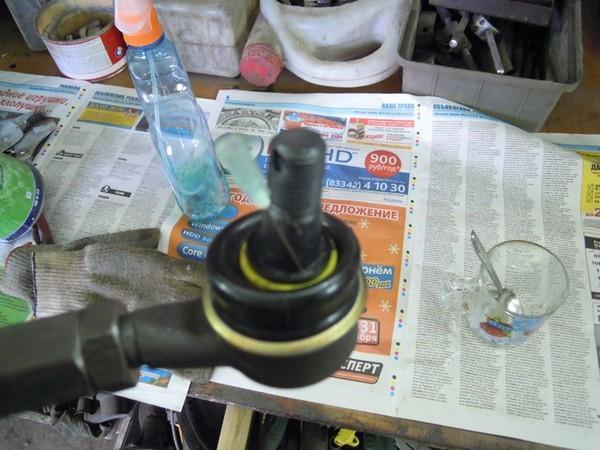 Изготовление усиленных рулевых тяг в НИВУ