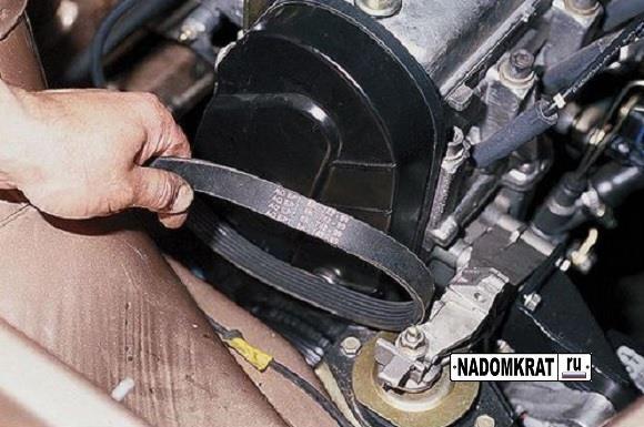 Ремень генератора ВАЗ 2123 без кондиционера