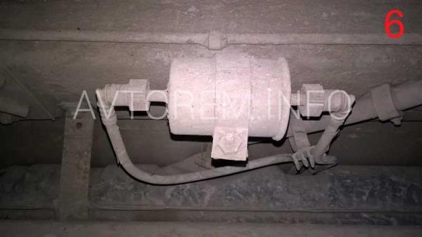 как заменить топливный фильтр ваз 2110