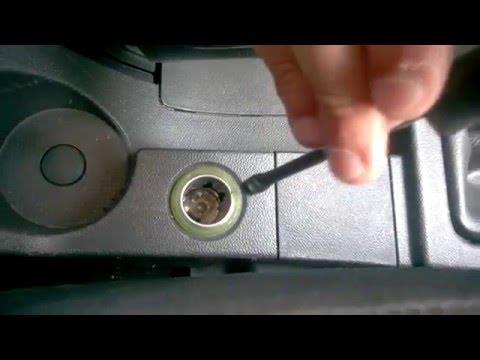 Как сделать кнопку прикуривателя ?