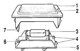 Замена лампы в плафоне освещения багажника и бардачка Лады-Приоры