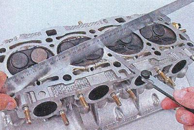 Головка блока цилиндров - проверка и притирка клапанов Автомобиль Лада Приора
