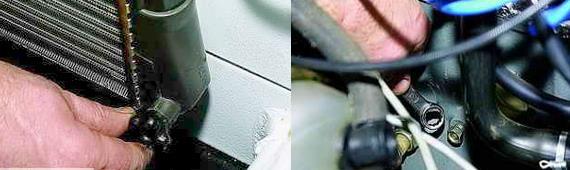 Замена охлаждающей жидкости Нива 2121 2131