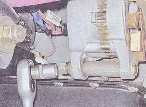 Замена генератора ваз 2105, 2106, 2107
