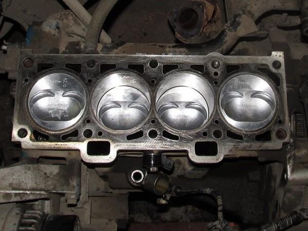 собранный блок цилиндров лада калина. ремонт двигателя