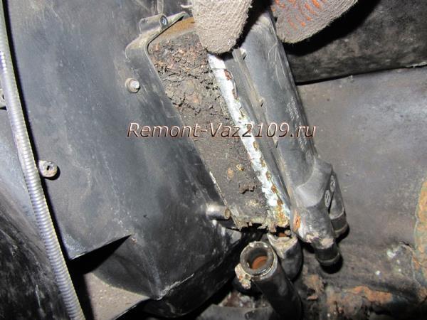 замена радиатора печки (отопителя) на ВАЗ 2109-2108