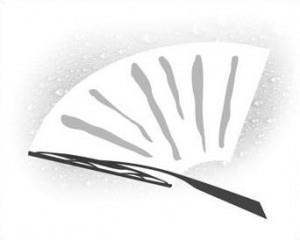 Неочищенные вертикальные полосы или прыжки щетки