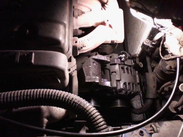 Замена щеток генератора пежо