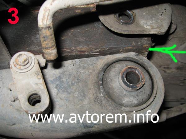 Замена сайлентблока задней балки на автомобиле ВАЗ-2108, ВАЗ-2109, ВАЗ-21099, ВАЗ-2110, ВАЗ-2112, ВАЗ-2114, ВАЗ-2115