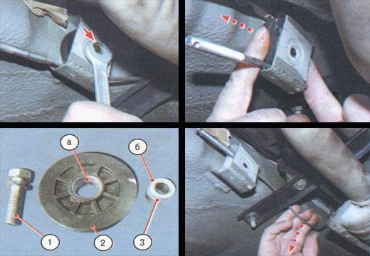 Как снять ручник Ваз 2106