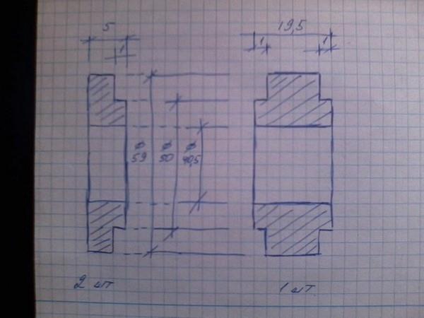 Переделка ступицы на нерегулируемая ступицу на 108 (6008) подшипниках для НИВЫ