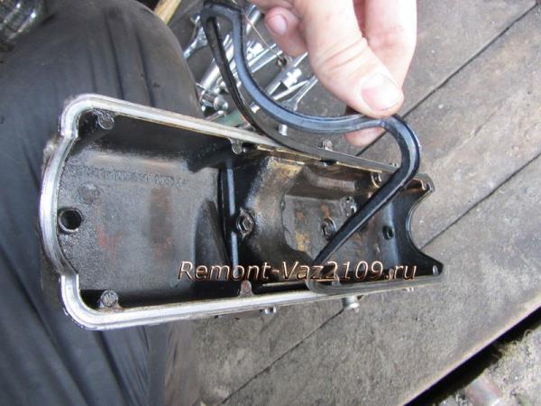замена прокладки клапанной крышки на ВАЗ 2109-2108