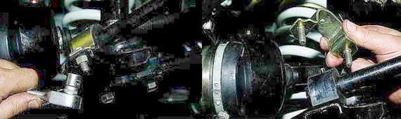 Как снять стабилизатор поперечной устойчивости Нива 2121 2131