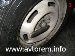 инструмент для замены внутреннего шруса и пыльника шруса на автомобиле ваз 2108, 2109, 21099, 2110