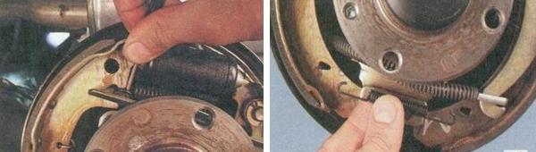 Замена задних тормозных колодок на автомобиле Ваз 2170