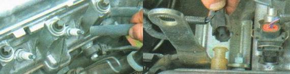 Замена прокладки головки блока цилиндров Ваз 2190 Гранта