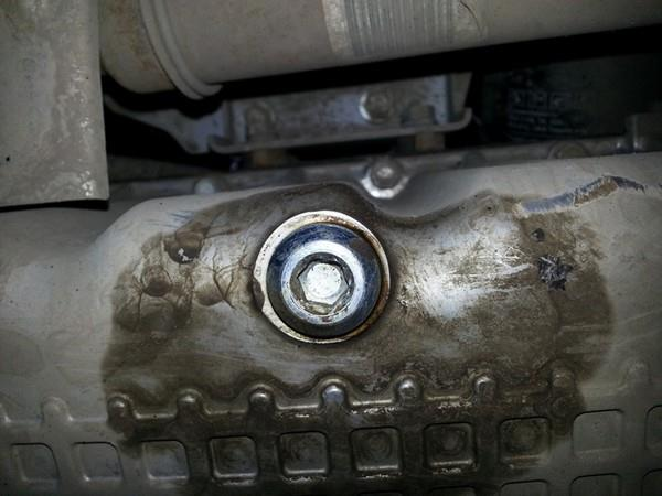 Замена масла в двигателе Лады Гранта с АКПП