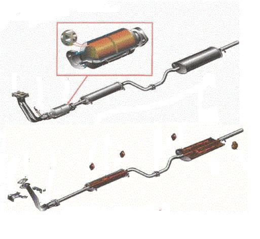 Правильное удаление катализатора ВАЗ 2110