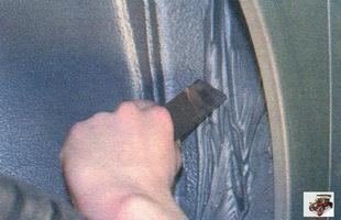 Снятие, замена и установка переднего крыла Лада Калина Раздел 10. Кузов автомобиля Лада Калина / Lada Kalina (ВАЗ 1118)