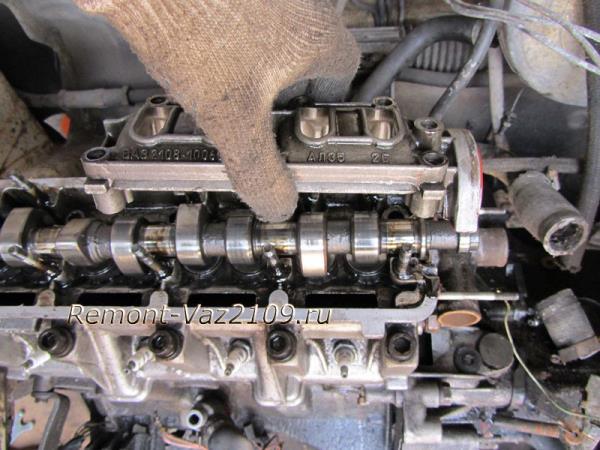 снятие и установка корпусов распредвала на ВАЗ 2109-2108