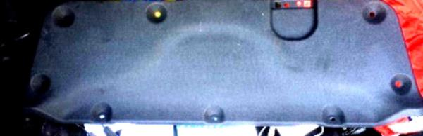 обшивка багажника Kia Rio 3