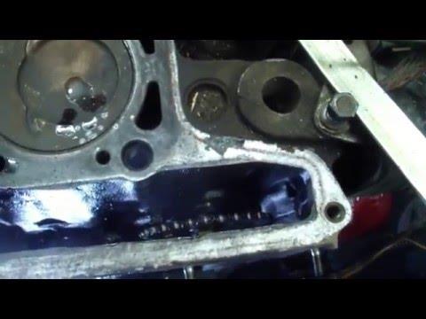 ВАЗ 21213 НИВА последствие несвоевременной замены грм