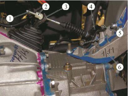 Снятие троса сцепления Лада Гранта (ВАЗ 2190)