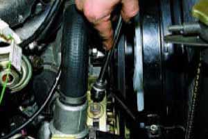 головкой «на 17» на карбюраторном двигателе