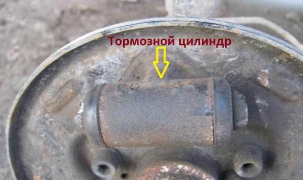 тормозной цилиндр ВАЗ 2110
