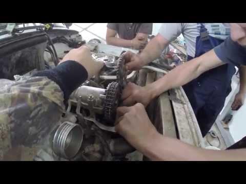 НИВА 21214, замена: помпа, цепь, натяжитель (LADA 4x4, ВАЗ, 2121)
