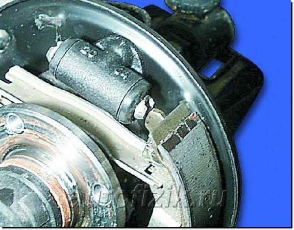 Тормозной механизм заднего колеса AUTOFIZIK.RU / авторемонт