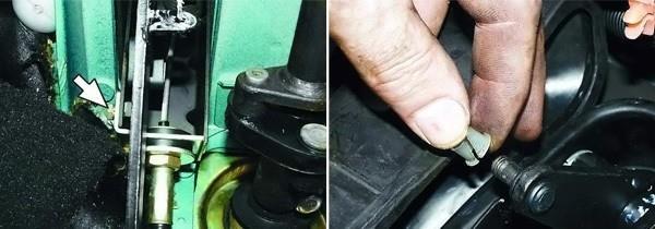 как поменять неисправный тросик сцепления на ВАЗ 2110