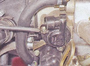 статья про датчик положения дроссельной заслонки (дпдз) автомобиль ваз 2107 - проверка - замена